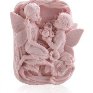 handmade pink-angel soap