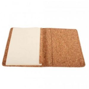 Cork Diary Cover with Organiser And Refillable Diary