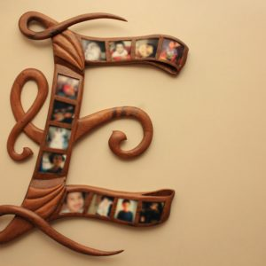 Alphabet Photo Frame
