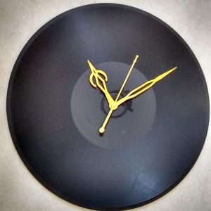 Customised LP Clock