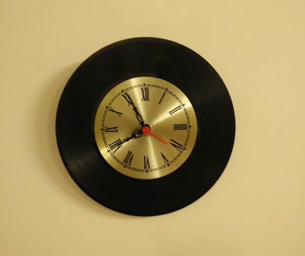 Golden Era LP Clock