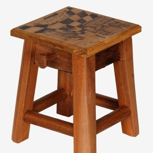 Pure Wood, Handcrafted Mini Stool