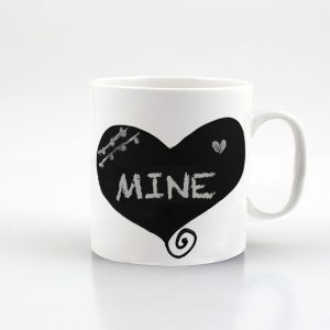 Coffee Conversation Mug - Heart