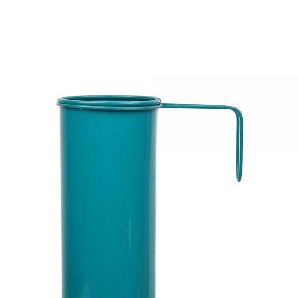 Hang on! Balcony Planter - Teal Blue