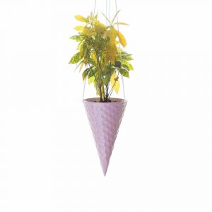 Ice-cream Cone Planter - Strawberry
